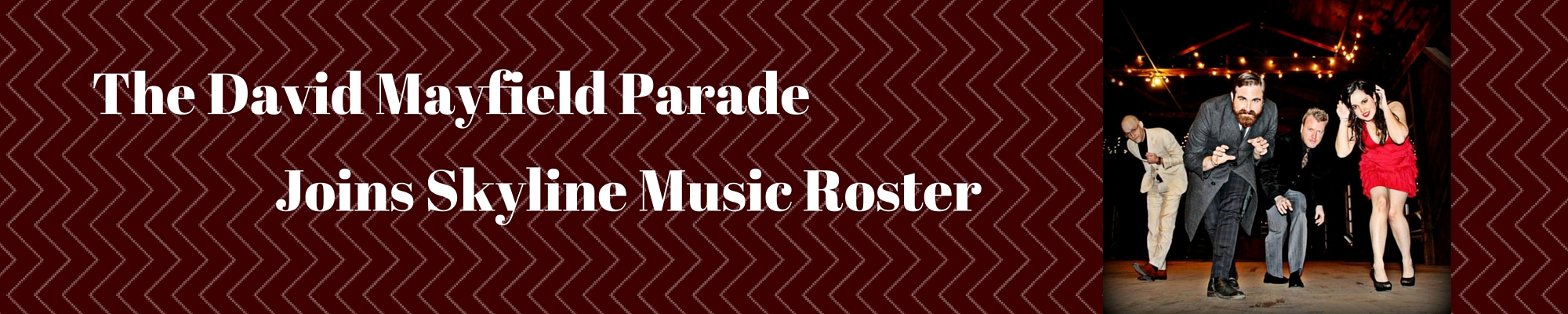 Web Banner-The David Mayfield Parade